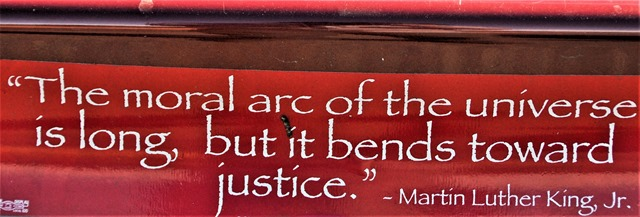 MLK bumper sticker - bruce witzel photo