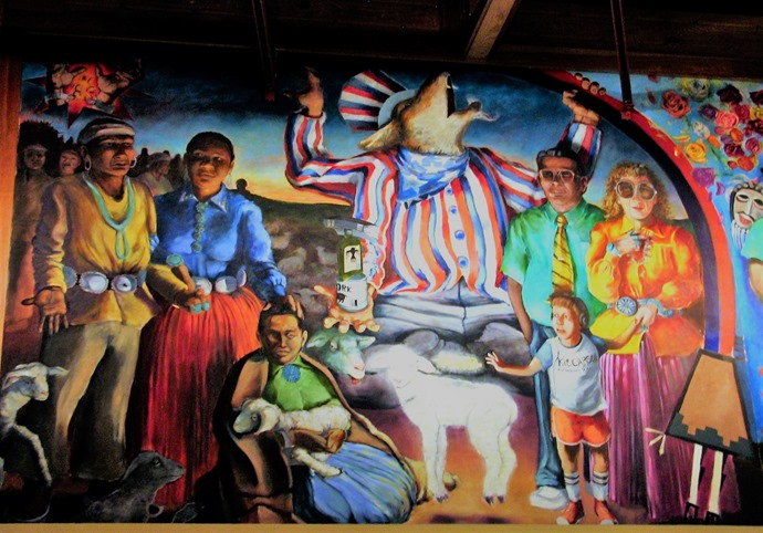 Mural at the Heard Museum, Phoenix Arizona