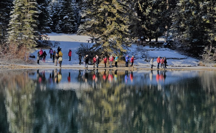 Emerald Lake View 7 (tourists) Yoho National Park British Columbia Nov 10 -2018 - bruce witzel photo