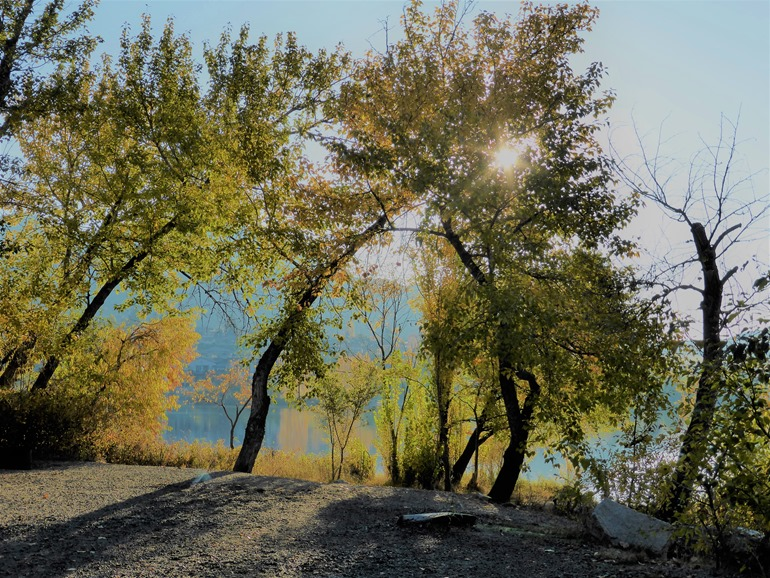 Haynes Point Provincial Park, Osoyoos BC, Oct 22-2018 - bruce witzel photo