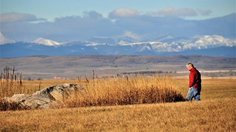 Stroll through the Alberta foothills Oct 29-2018 - bruce witzel photo