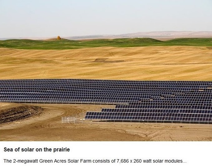 Green Acres Solar Farm, Alberta