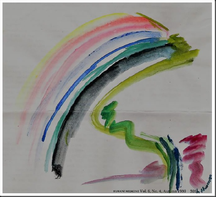 Rainbow Watercolour, 1992 - by bruce witzel
