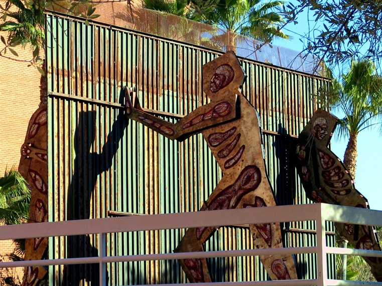 University of Arizona in Tucson against the wall - bruce witzel photo