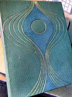 Charles Brandt's book binding skills