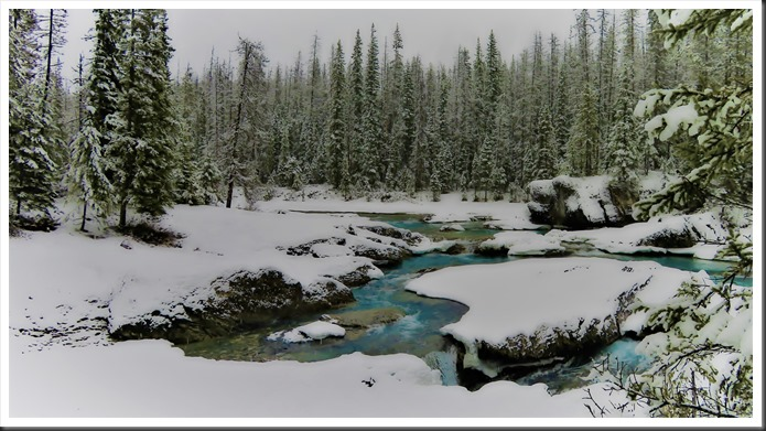 Kicking Horse River 2, British Columbia Canada, Nov.26-2017 - bruce witzel photo