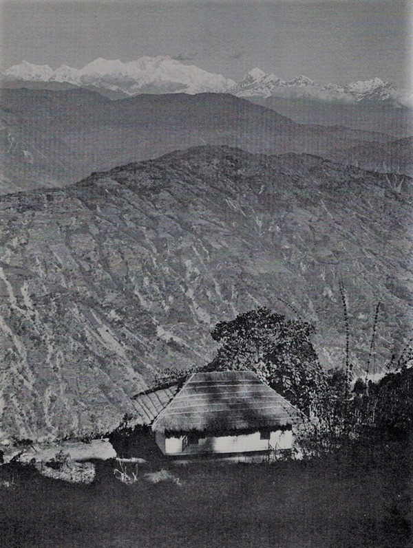 photo of the himalayas by thomas merton