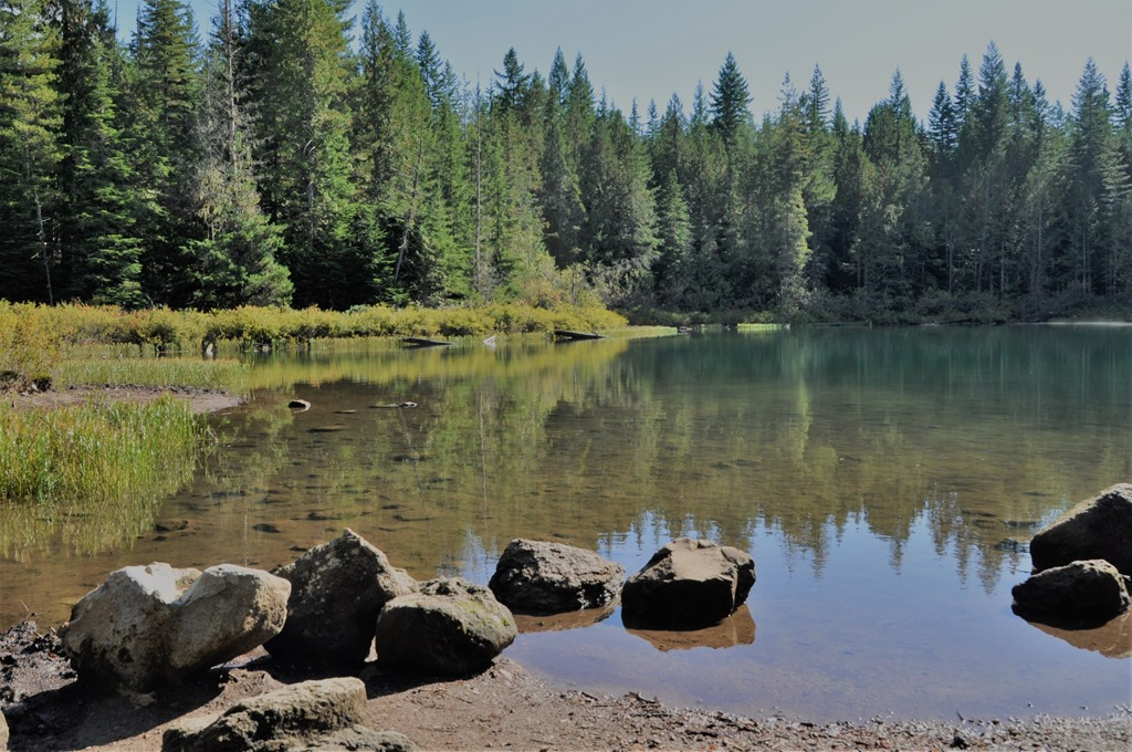 Fawn lake in Alice Lake BC Provincial Park Sept 26-2019 - bruce witzel photo