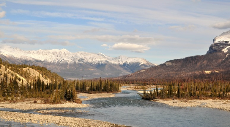 North Saskatchewan River, Banff National Park Oct 27-2014- Bruce Witzel photo