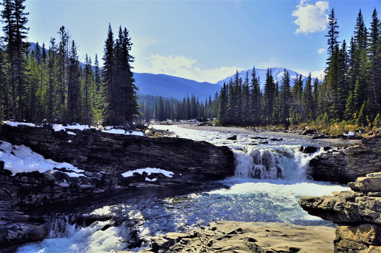 Sheep River Falls 2 Alberta Oct 6-2019 - bruce witzel photo