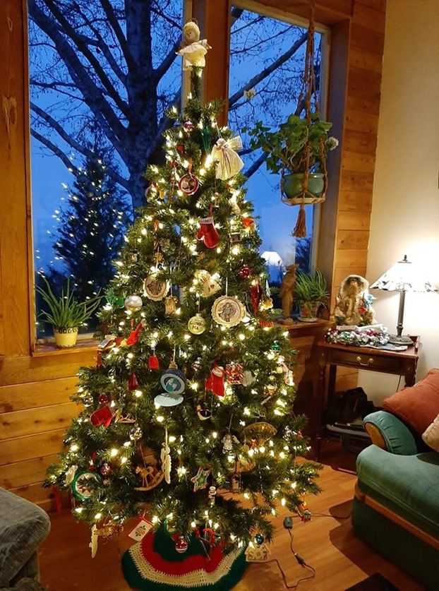 Our Christmas tree 2019 - francis guenette photo