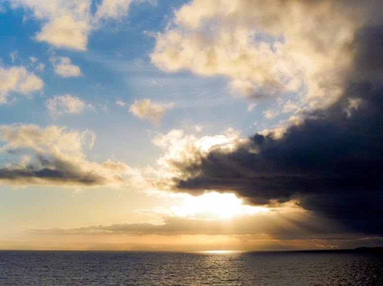 Dawn on Georgia Strait 2013-11-09 bruce witzel photo