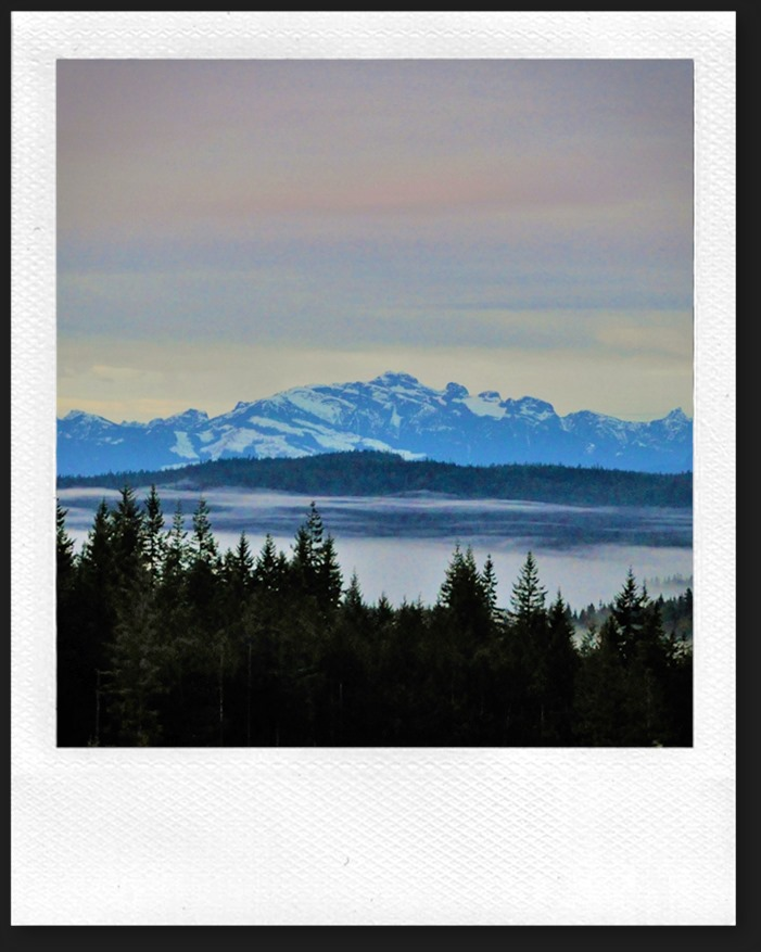 Beaufort Mountains on Vancouver Island 2015-01-31 bruce witzel photo