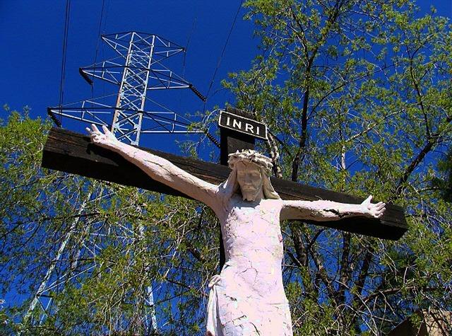 Christ Crucified - bruce witzel photo