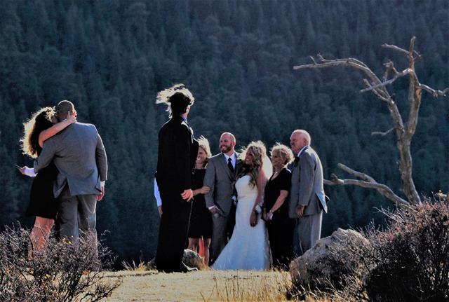 An autumn wedding in Rocky Mountain National Park, Colorado 2016-10-05 bruce witzel photo