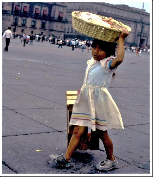 Girl in Mexico City 1991-10-19  bruce witzel photo